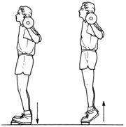 best all over exercise move plie squat with dumbbell