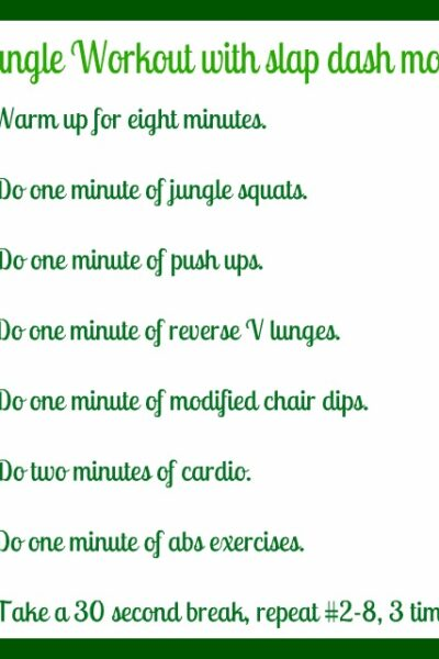 workout with no equipment