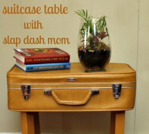 suitcase table tutorial