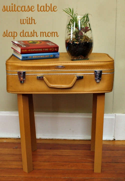 Diy suitcase table slap dash mom for Diy suitcase table