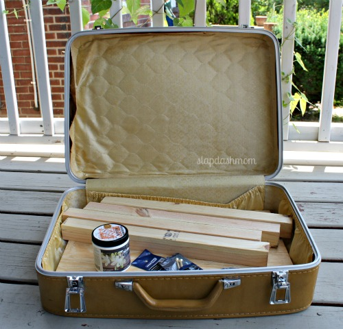 suitcase table diy 3