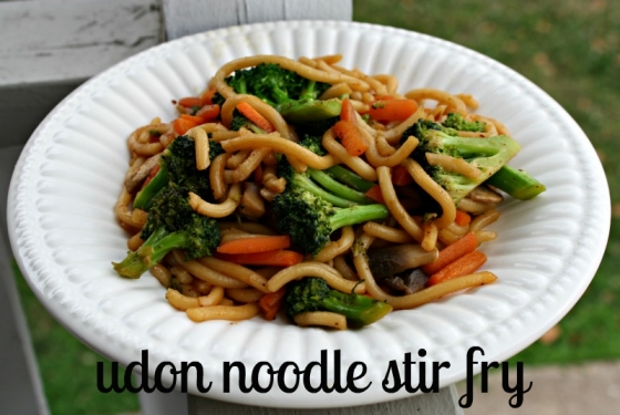 udon noodle stir fry with vegetables recipe