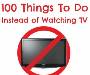 things to do instead of tv