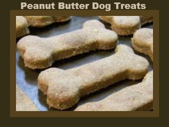 Homemade Dog Treats: Peanut Butter Cookies
