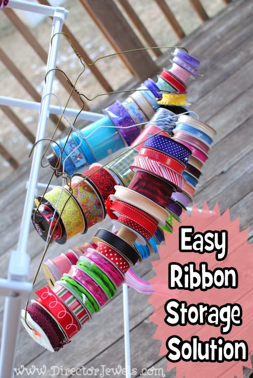 easy ribbon organization