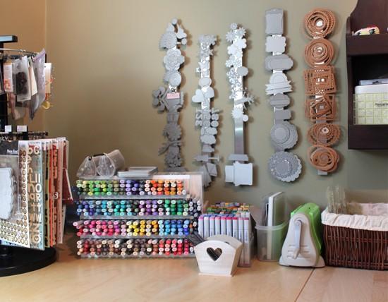 diy craft room organizers