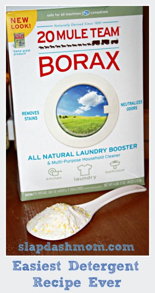 easiest diy detergent