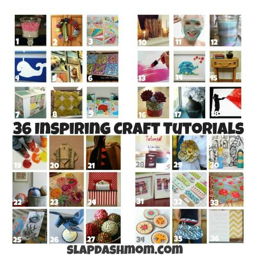 36 Inspiring Craft Tutorials