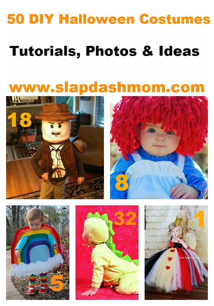 Slap dash mom50 easy diy halloween costumes for kids for Diy halloween costume ideas for kids