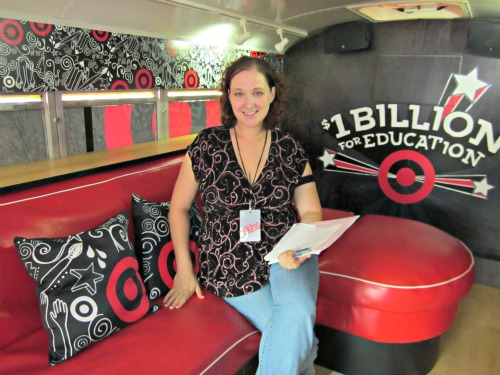 target bullseye bus inside
