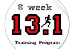 8 week half marathon training program