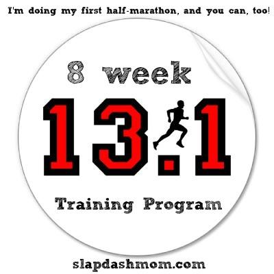 8 week half marathon training program