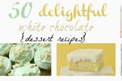 white chocolate dessert recipes