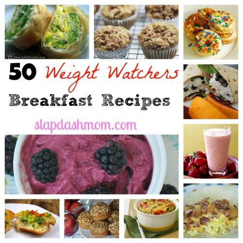 weight watchers breakfast recipes