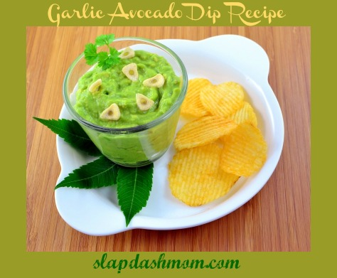 Easy Garlic Avocado Dip + 10 Avocado Recipes