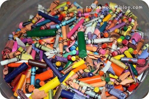 diy recycled crayon tutorial