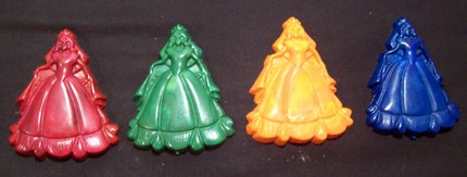 diy princess crayons recycled