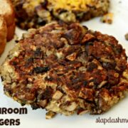 easy mushroom burger recipe