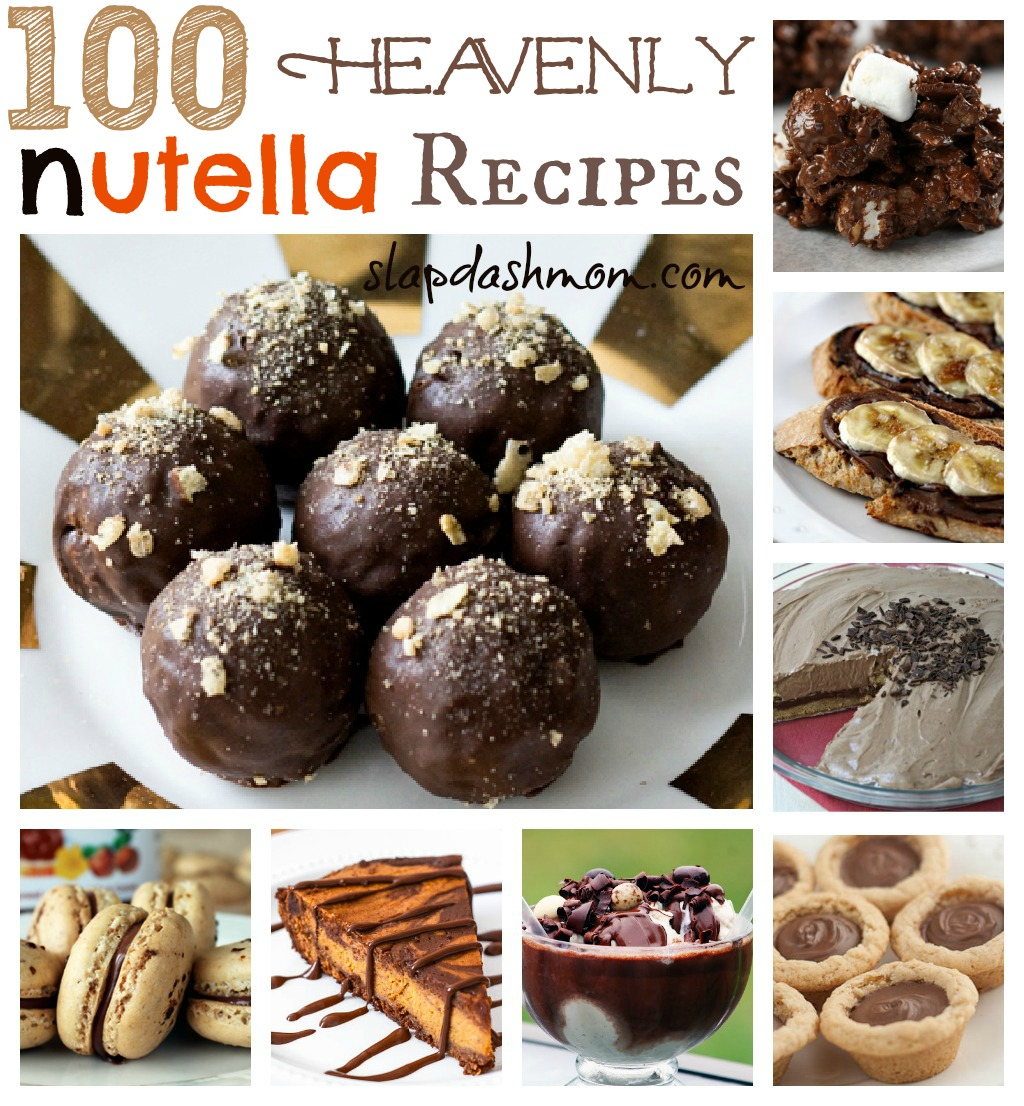 100 Heavenly Nutella Recipes