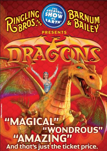 ringling brothers dragons circus