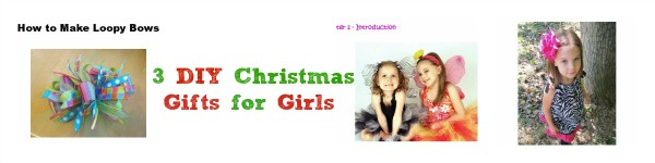3 DIY Christmas Gifts for Girls