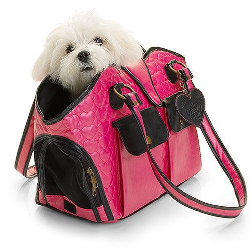 lulu pink dog carrier giveaway