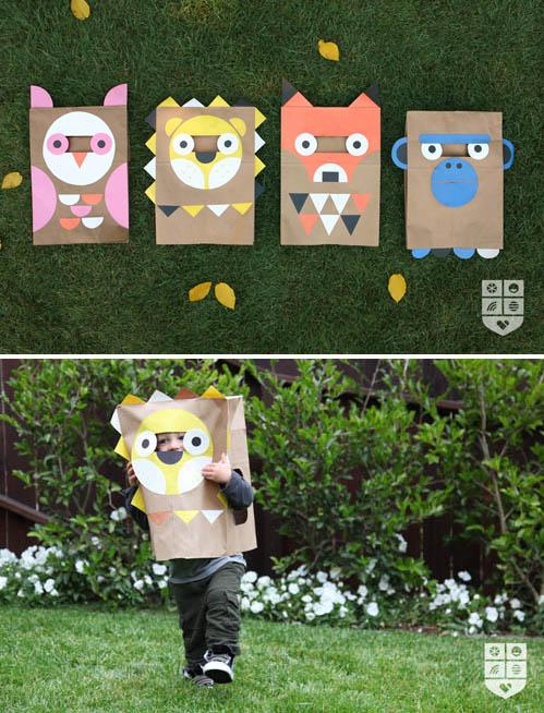 paper bag halloween costumes