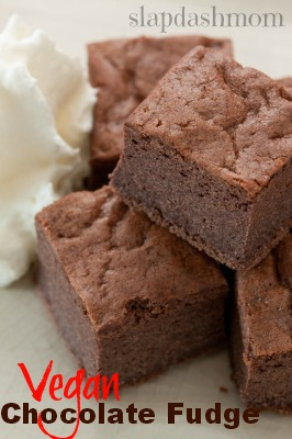 vegan chocolate fudge recipe