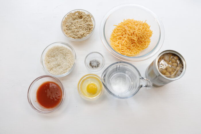 Ingredients for air fryer buffalo quinoa fritters weight watchers