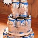 DIY Beer Tower Cake