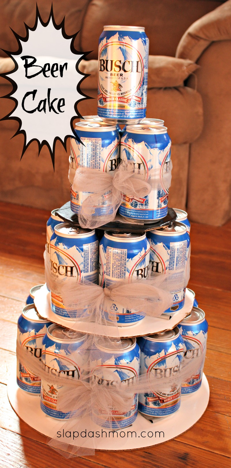 Beer Can Cake Supplies