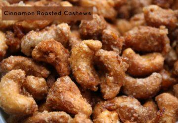 Cinnamon Roasted Cashews