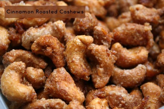 Cinnamon Roasted Cashews Recipe