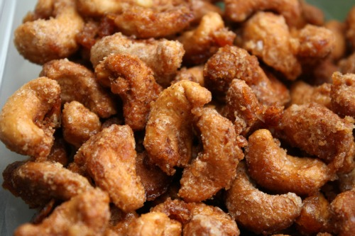 Honeyed Cashews With Kosher Salt Recipes — Dishmaps