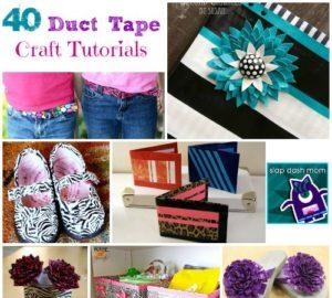 DIY Duct Tape Craft Tutorials
