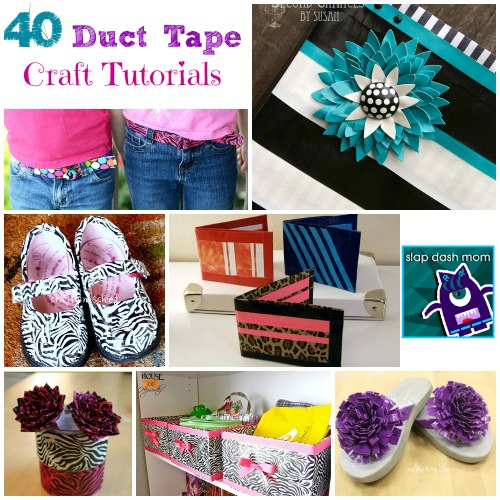 Kids Duct Tape Crafts