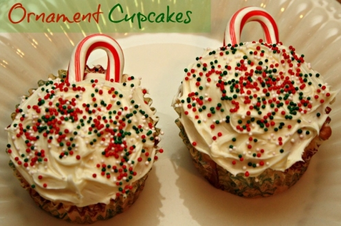 Ornament Cupcake Recipe