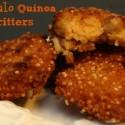 Buffalo Quinoa Fritters Recipe