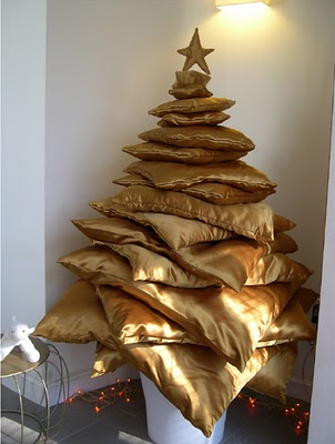 pillow christmas tree