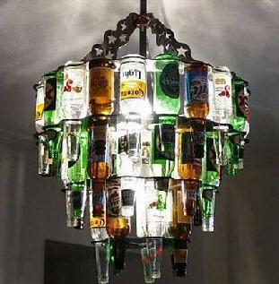 christmas tree chandelier