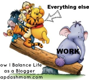 how to balance life as a blogger