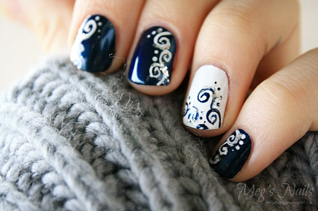 simple new years eve nail ideas
