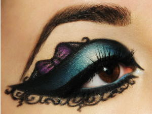 sultry new years eve makeup
