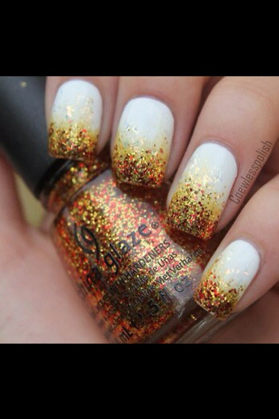 fire new years eve nails
