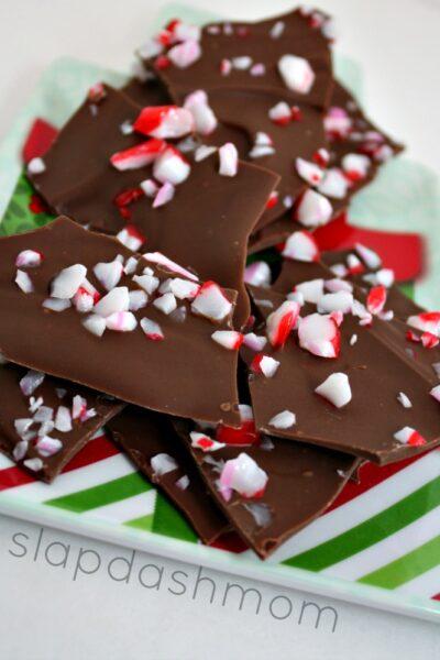 Easy Chocolate Peppermint Bark Recipe
