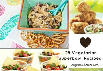 Vegetarian Super Bowl Recipes