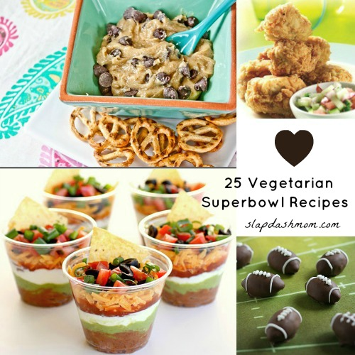 25 Vegetarian Super Bowl Recipes