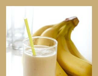 Spiced Banana Almond Smoothie Recipe