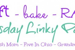 craft bake rant linky party