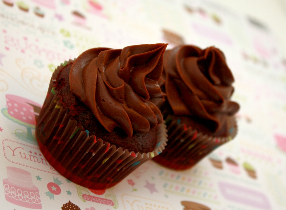 Dark Chocolate Mocha Cupcake Recipe